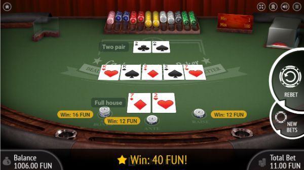Bluffe Poker spillet–303111