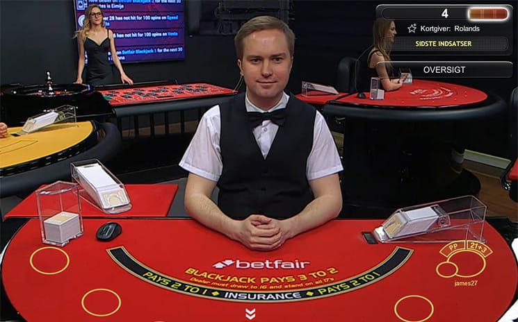 Blackjack borde indskud–602324