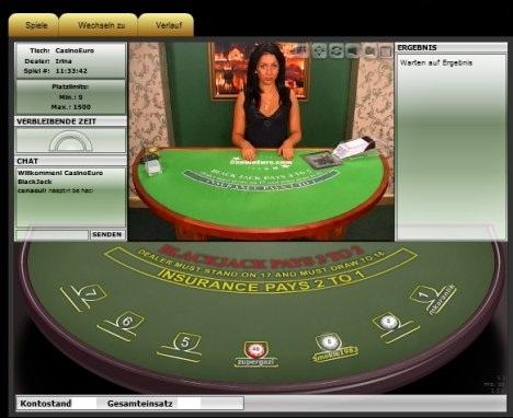 Blackjack bankroll klemte