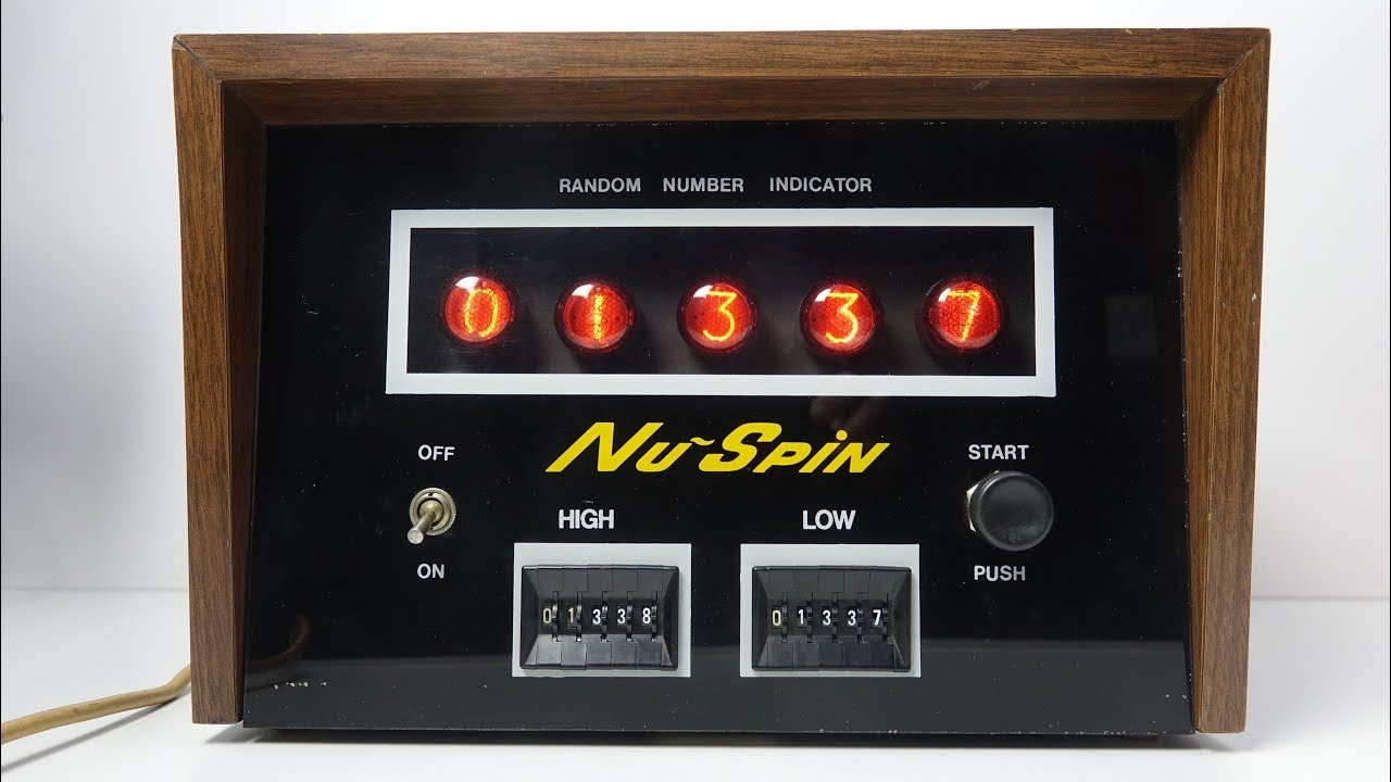 Random number spin–911171
