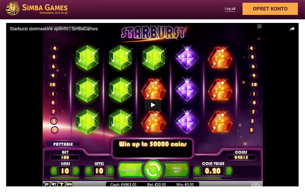 Nyeste casino Femvejs